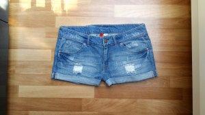Damen Jeans-Shorts, Hotpans, kurze Hose von H&M, Gr. 38/S