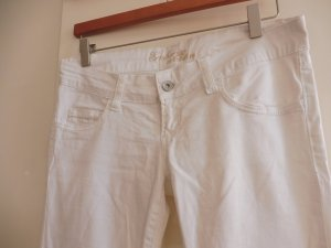 Damen Jeans Stretch weiss