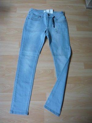 rick cardona Pantalón de tubo azul pálido Algodón