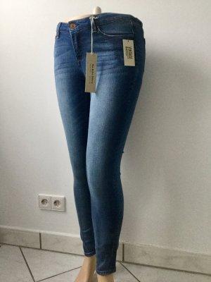 American Vintage Skinny Jeans steel blue-blue