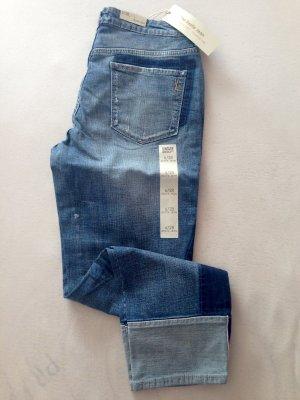 American Vintage 3/4-jeans korenblauw