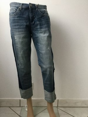American Vintage Jeans a 7/8 blu fiordaliso Cotone