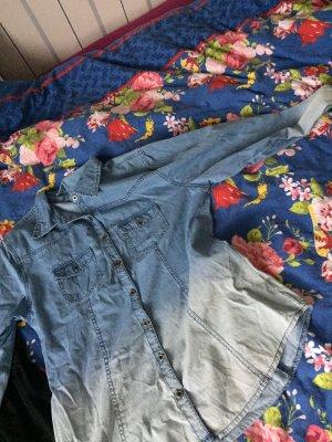 Damen -Jeansbluse