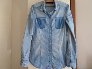 jeanshemd damen gebraucht kaufen nur 4 st bis 60 g nstiger. Black Bedroom Furniture Sets. Home Design Ideas