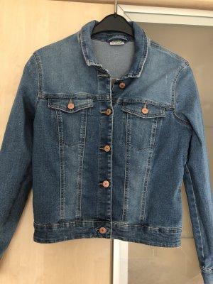 Damen Jeansjacke Jacke Gr L Noisy May Blau Neu mit Fehlern