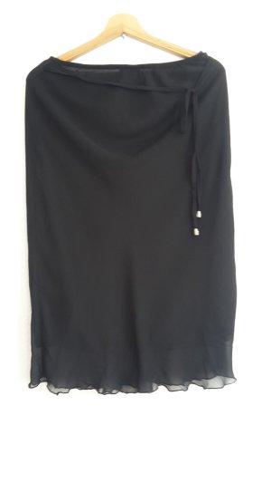 Damen Jersy Rock von Cecilia Clasic,G.S,schwarz,Polyester,gebraucht
