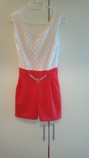 Twin Set white-neon red