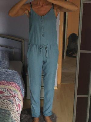 Damen Jumpsuit Overall Orsay Denim Gr 36 S Neu