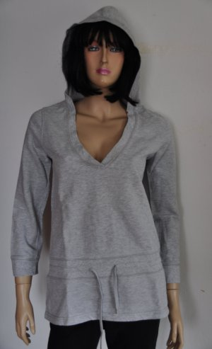 H&M Hooded Sweater silver-colored