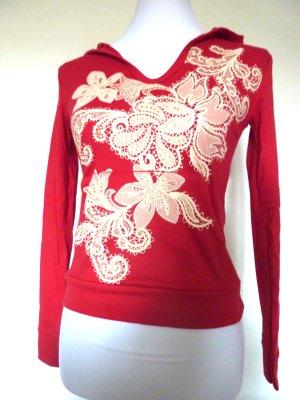 Shirt Tunic natural white-red