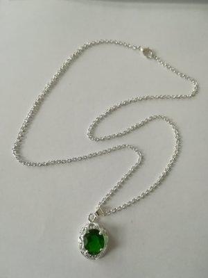 Chain zilver-groen