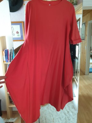 Robe Hippie rouge-rouge brique