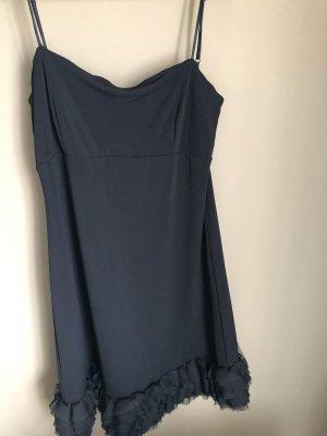 Mango Suit Flounce Dress black