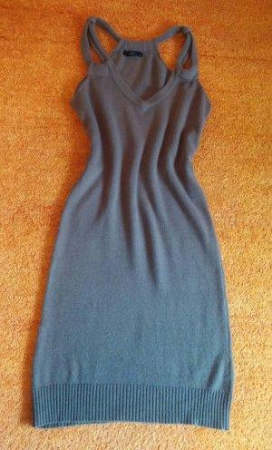 Damen Kleid Angoramix Strickkleid Gr.S in braun von Yest