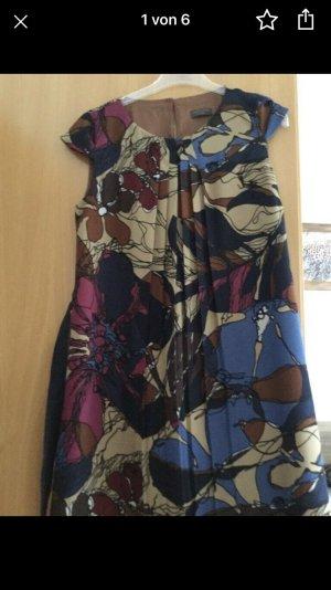 Damen Kleid Blumen Print