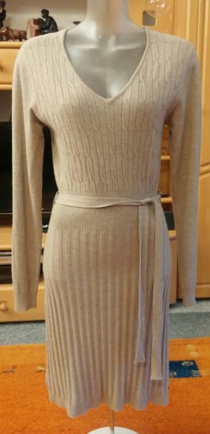 Malvin Knitted Dress beige viscose