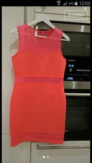 Sweat Dress orange