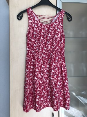 Damen Kleid Gr M 38 Pink weiß geblümt Even & Odd