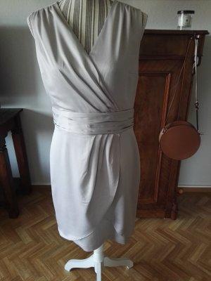 H&M Robe fourreau gris clair