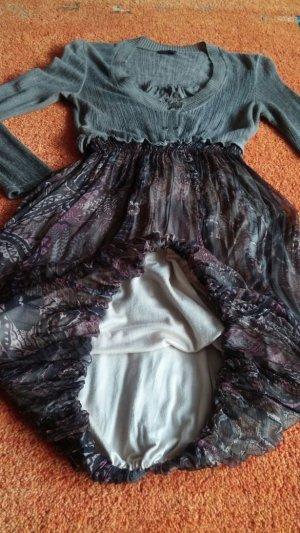 Balloon Dress oatmeal-light brown