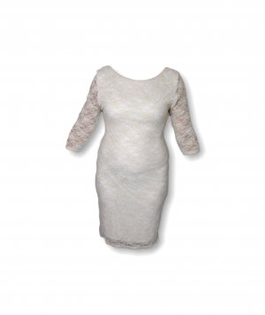 New Look Evening Dress white-gold-colored