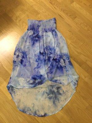 Damen kleid schulterfrei Blumen Print Tom Tailor