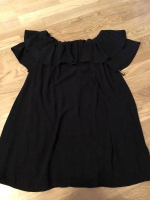 Damen Kleid schwarz neu schulterfrei