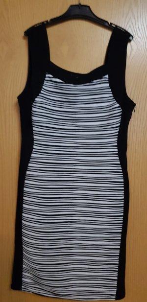 Ambiance Vestido blanco-negro