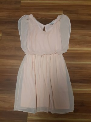 Damen Kleid Sommerkleid in rosé Gr. S von Clockhouse