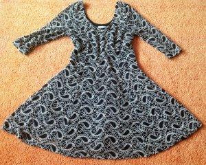 Damen Kleid Stretch Spitze Gr.S in Schwarz/Beige von Apricot NW
