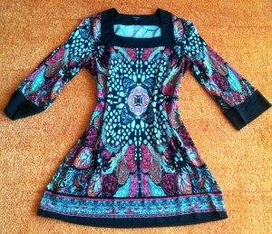 Damen Kleid Stretch Tunika Br.40 in Mehrfarbig von Comma NW