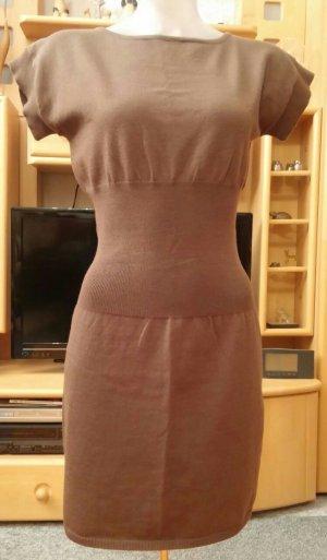 Jennifer Taylor Knitted Dress brown nylon
