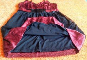 b.p.c. Bonprix Collection Evening Dress black-dark red