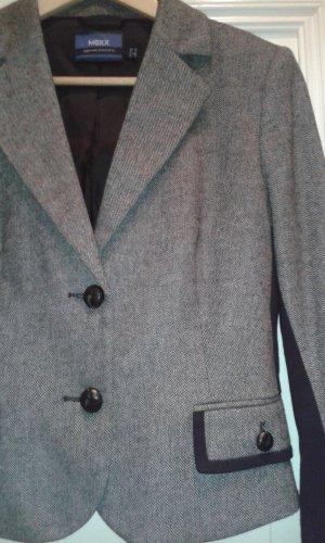 Damen Kostüm in grau/schwarz von Mexx Größe 38 Blazer & Rock
