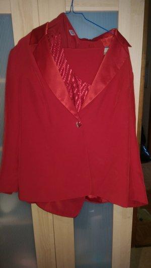 Damen Kostüm rot gr 44