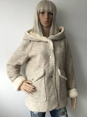 Damen Kurzer Mantel von Zara Gr.M