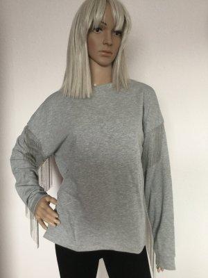 Damen Kurzes Sweatshirt von H&M Gr.S