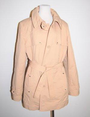 Damen Kurzmantel Trenchcoat mit Gürtel von Comma Gr.44