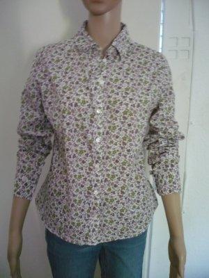 Damen Langarm-Bluse mit bunten Blümchen von MONTEGO Größe 38 / M