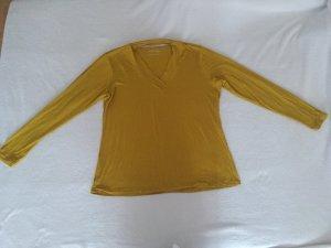 Camisa larga ocre