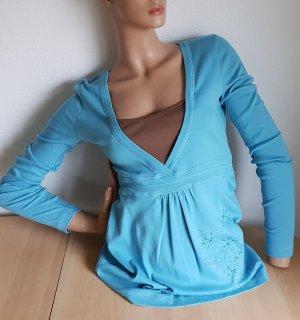 Damen Langarmshirt Shirt Tshirt Größe 36/38