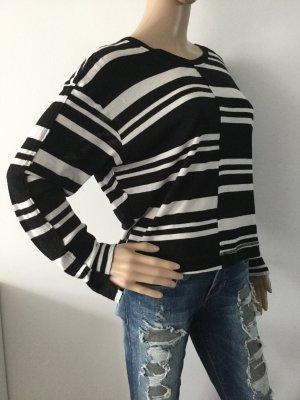 Diesel Camicia maglia nero-bianco