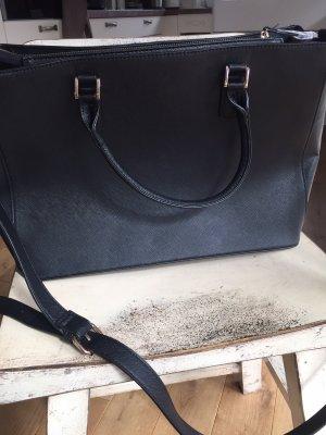 Sacoche d'ordinateur noir faux cuir