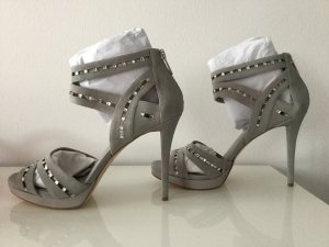 Damen Leder Sandaletten mit Schmucksteinen von Michael Kors Gr.40 (9M)