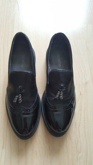 Damen  Leder  Schuhe