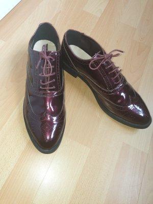 Essence Membur Oxfords bordeaux leather