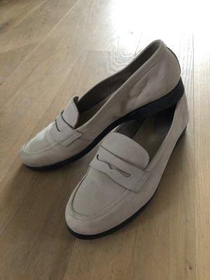 Damen Leder Slip-On Schuhe
