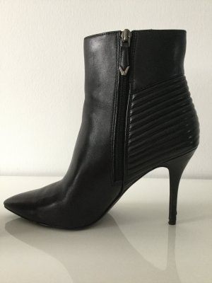 Damen Leder-Stiefeletten High Heel von What For