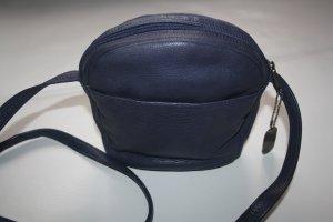 Damen Leder Umhängetasche royalblau / Tasche / Leder