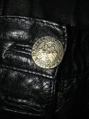 Pantalon bavarois noir cuir